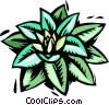 Vector Clipart graphic  of a plant