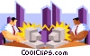 business networking Vector Clipart picture