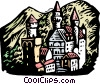 Castle Vector Clipart illustration