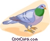 Vector Clipart graphic  of a bird