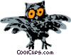 owl Vector Clipart graphic