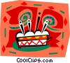 cake Vector Clipart graphic