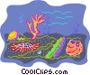 Vector Clip Art picture  of a sea life