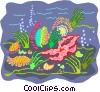 Vector Clip Art image  of a sea life