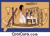 ancient Egypt Vector Clipart illustration