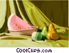 Vector Clip Art image  of a food and dining/fruit