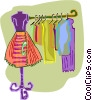 clothes Vector Clipart picture