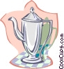 Vector Clipart illustration  of a coffee pot