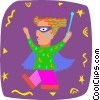 magician Vector Clipart picture