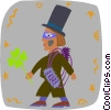 leprechaun Vector Clipart illustration