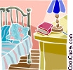 Vector Clipart graphic  of a house interior