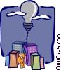 Vector Clipart illustration  of a business / ideas