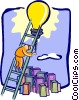 Vector Clip Art picture  of a business / ideas