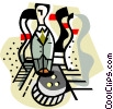 Vector Clipart graphic  of a business / general