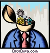 business / human resources Vector Clip Art picture