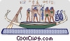Vector Clipart picture  of an ancient Egypt