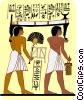 Vector Clipart graphic  of an ancient Egypt