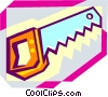 Vector Clip Art picture  of a saw