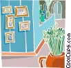 house interior clipart