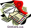 Vector Clipart graphic  of a Business / Email