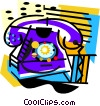phone Vector Clipart illustration
