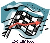 business / winning the race Vector Clip Art graphic