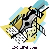 Vector Clip Art image  of a Fountain pen