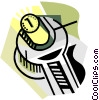 Vector Clip Art graphic  of a business / fine tuning
