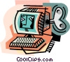 business / technology Vector Clipart picture