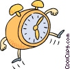 Vector Clip Art graphic  of a business / time management