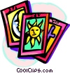 tarot cards Vector Clip Art picture