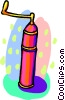 Vector Clip Art picture  of a pepper grinder
