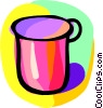 Vector Clipart graphic  of a cup