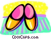 shoes Vector Clip Art graphic