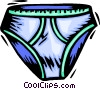 Vector Clipart picture  of a underwear