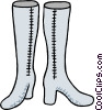 high boots Vector Clipart picture