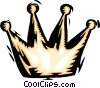 chess piece king Vector Clipart illustration