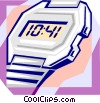 Vector Clip Art graphic  of a time