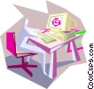 business / office Vector Clipart image