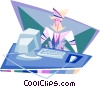 business / telecommunications Vector Clip Art image