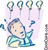 bright ideas Vector Clip Art image