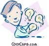 Vector Clipart image  of a business / ideas