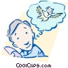 Vector Clipart graphic  of a ideas