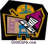 The Arts/music Vector Clipart image