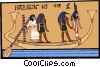Vector Clipart image  of an ancient Egypt