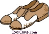 shoes Vector Clipart illustration