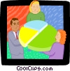 piece of the pie Vector Clip Art graphic