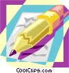office Vector Clipart illustration