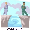 Opposing Views Vector Clip Art picture