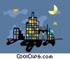 cityscape Vector Clipart picture